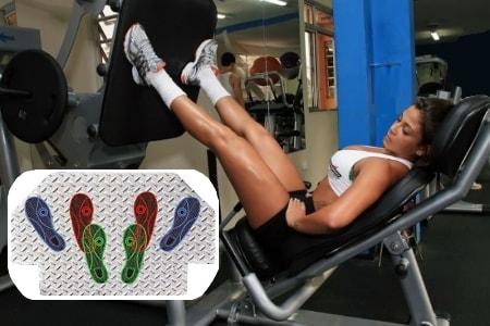 Разновидности жима ногами на тренажере