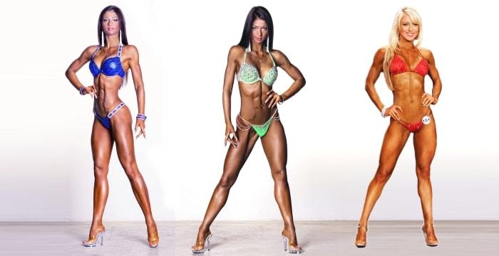Женская категория в фитнесе бикини фитнес
