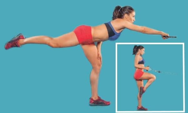Упражнение Тяга блока к поясу