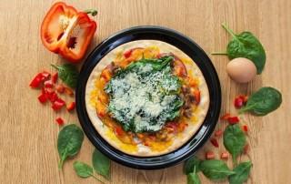 Низкокалорийная пицца с сыром Чеддер