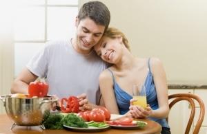 Прием пищи, правильное питание