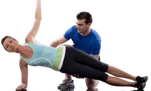 Упражнение планка, plank