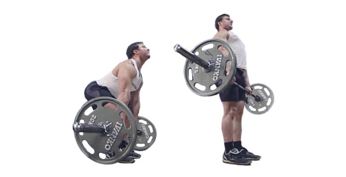 Становая тяга техника выполнения упражнения