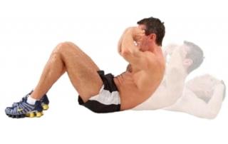 Упражнение Скручивания техника выполнения