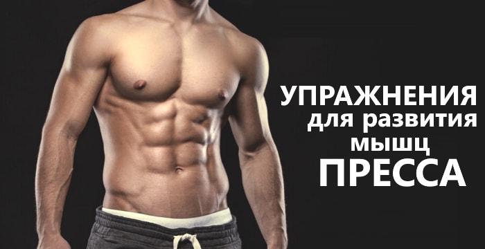 Лучшие упражнения для развития мышц пресса